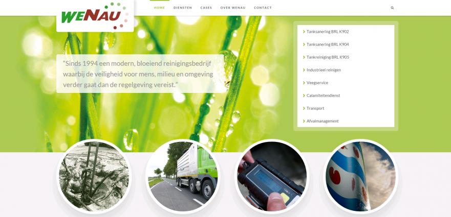 Nieuwe website Wenau