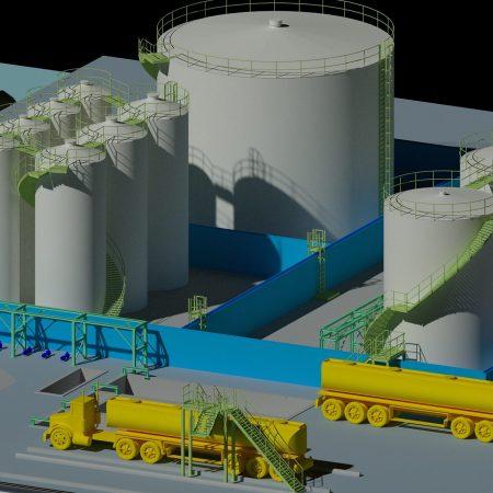 Wenau industrieel reinigen, eigen tankenpark